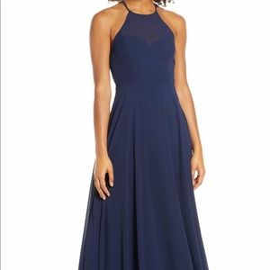 Navy formal dress from Nordstrom's